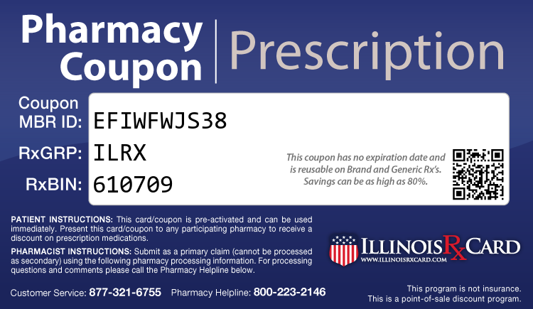 Illinois Rx Card - Free Prescription Drug Coupon Card